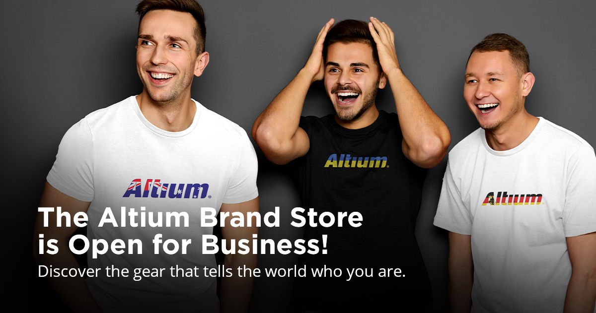 Announcing the Official Altium Brand Store