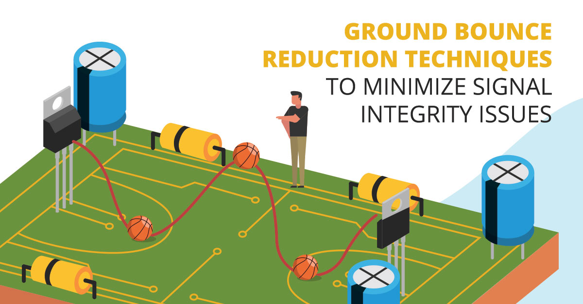 Ground bounce in your PCB and ground bounce in signal integrity