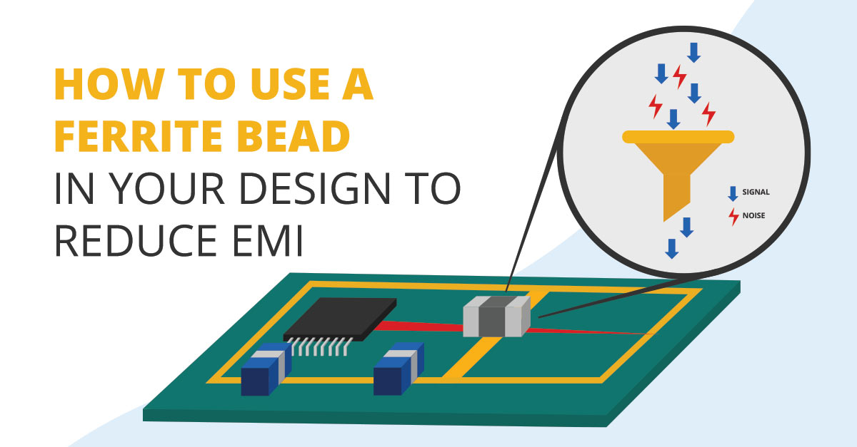 How To Use A Ferrite Bead In Your Design To Reduce Emi Altium Designer
