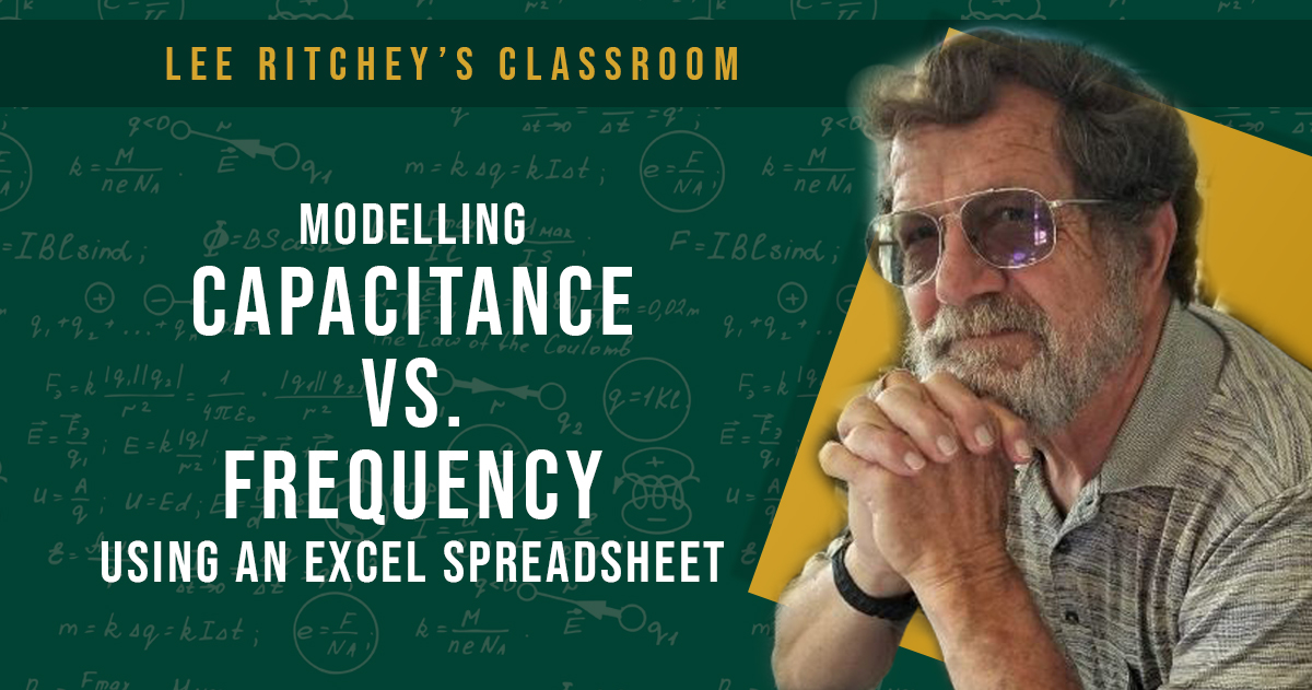 Modeling Capacitor Impedance Vs. Frequency Using an Excel Spreadsheet