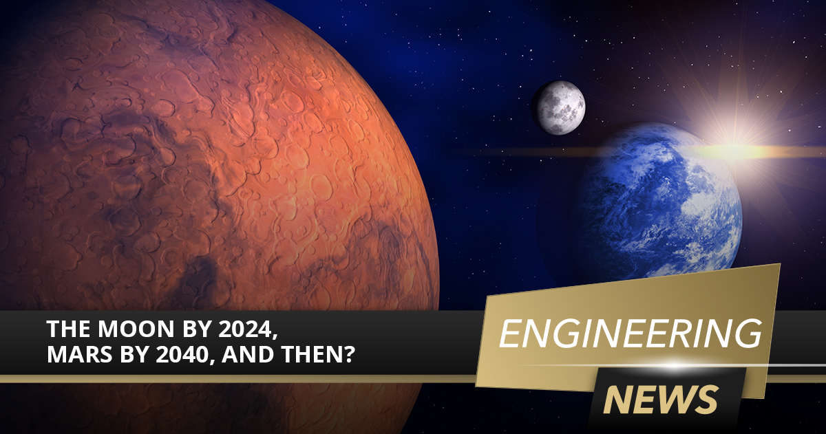 The Moon by 2024, Mars by 2040, and Then?