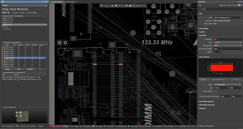 Diseño de capas de PCB en Altium Designer
