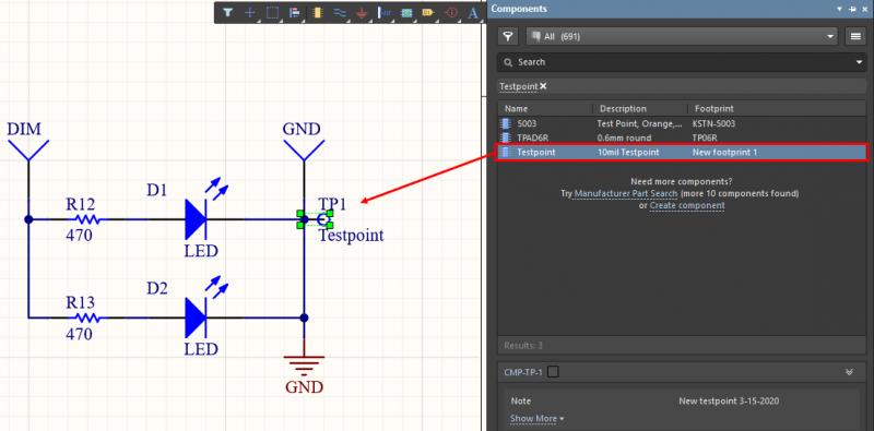 Adding components from Altium Concord Pro into Altium Designer