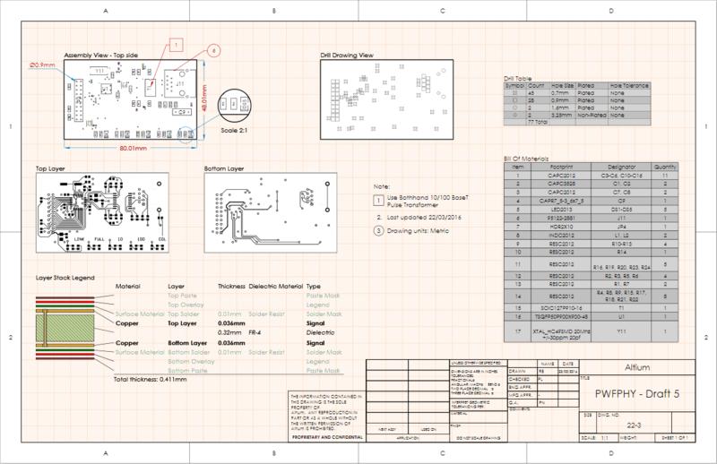 Draftsman in Altium Designer