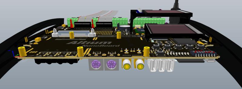Montaje de conectores para circuito impreso