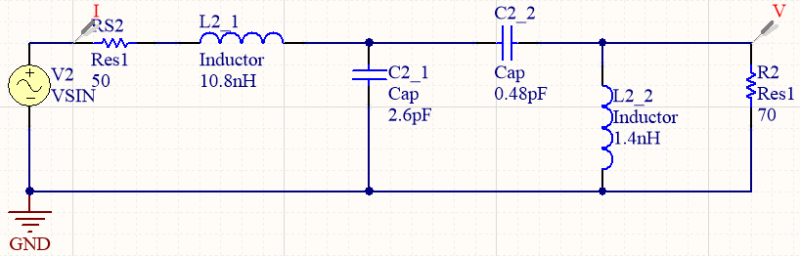 Capacitor circuit simulation