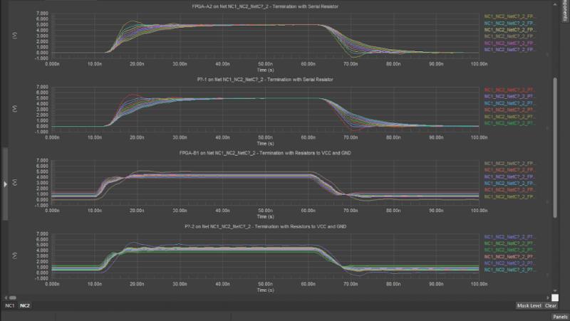 Component data and schematic information in Altium Concord Pro