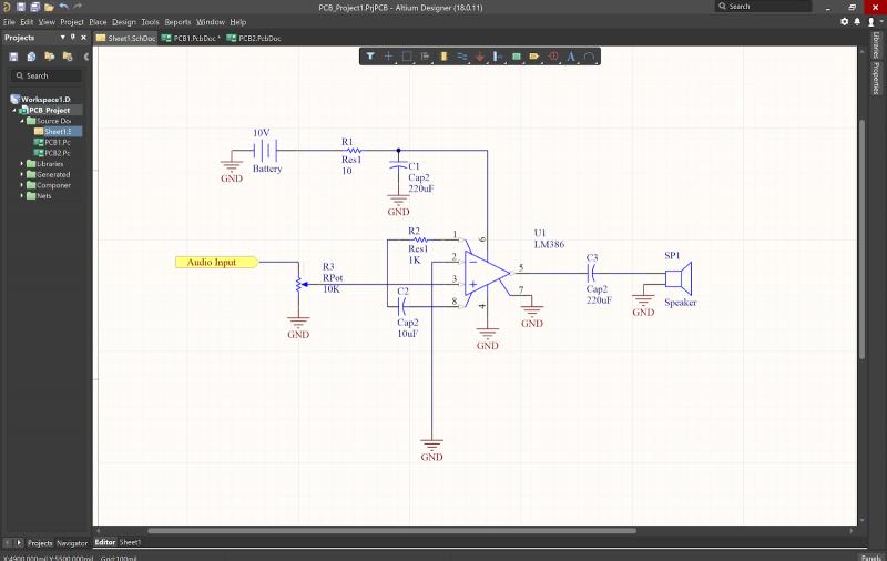 Tutoriales de diseño de PCB