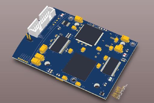 Model the board in 3D within Altium Designer