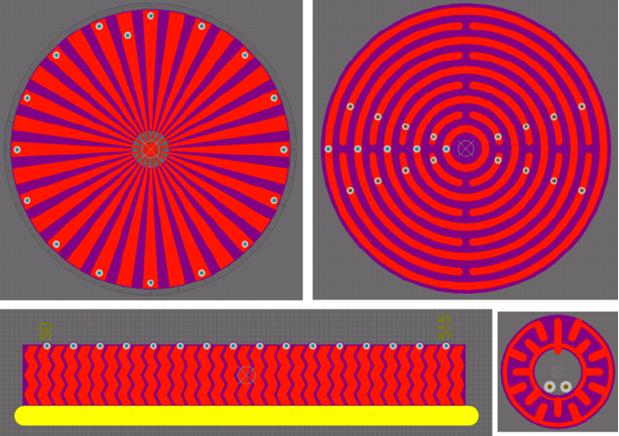 Conductor arrays for capacitive touch PCB design in Altium Designer
