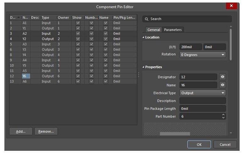 Sincronización de componentes de PCB