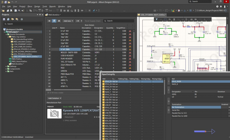 High speed PCB layout software