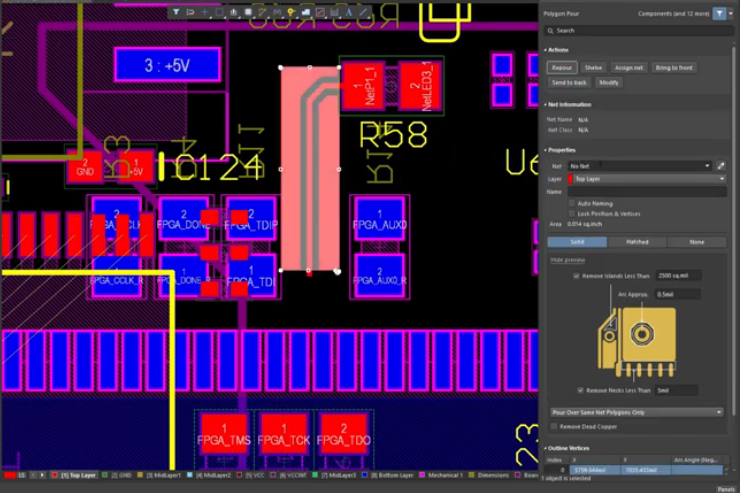Altium Designer RF interconnects and routing