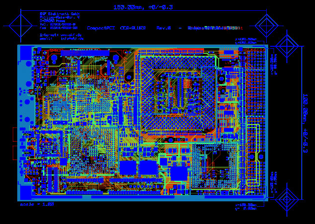 PCB etching service Gerber file