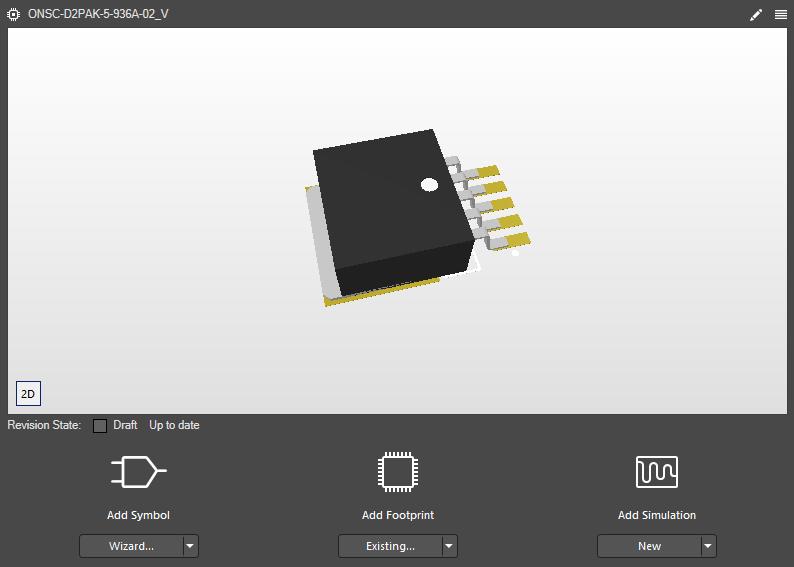 3D PCB footprint creation in Altium 365 and Altium Designer
