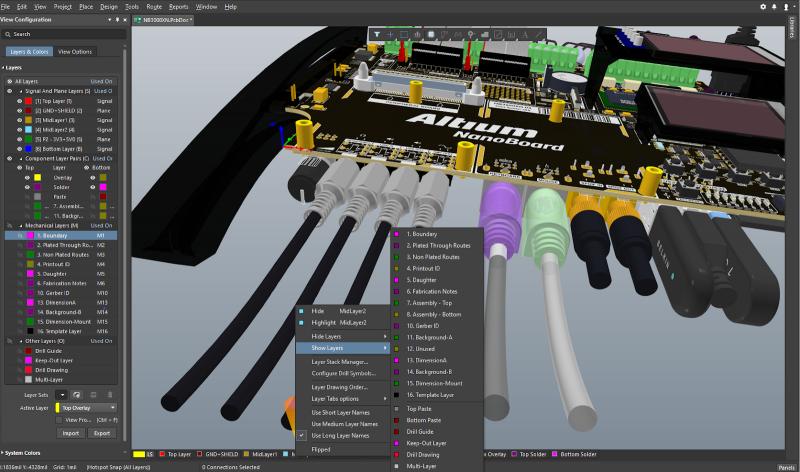 Diseño de PCB con los materiales adecuados