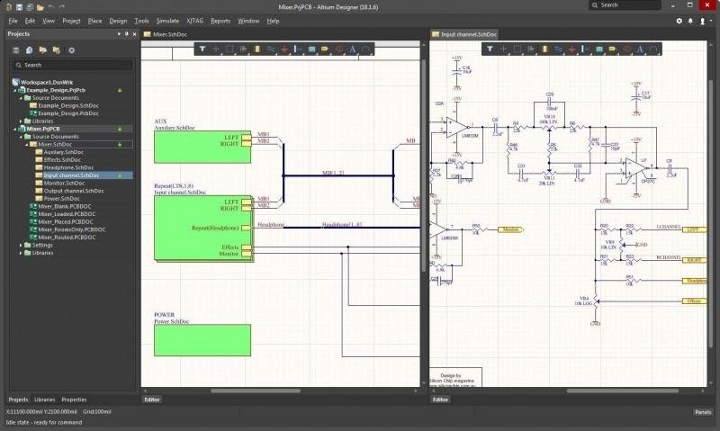 Création du schéma d'un concept PCB en s'appuyant sur un glossaire de carte imprimé clair.