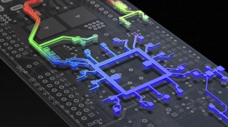 PCB設計でのPDNAの3D表示