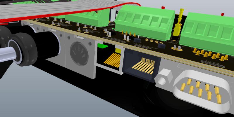 Connecteur circuit imprimé