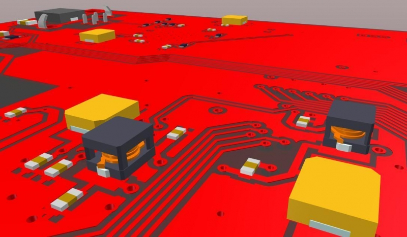 Schaltplan-Zeichenprogramm mit 3D-Modellen