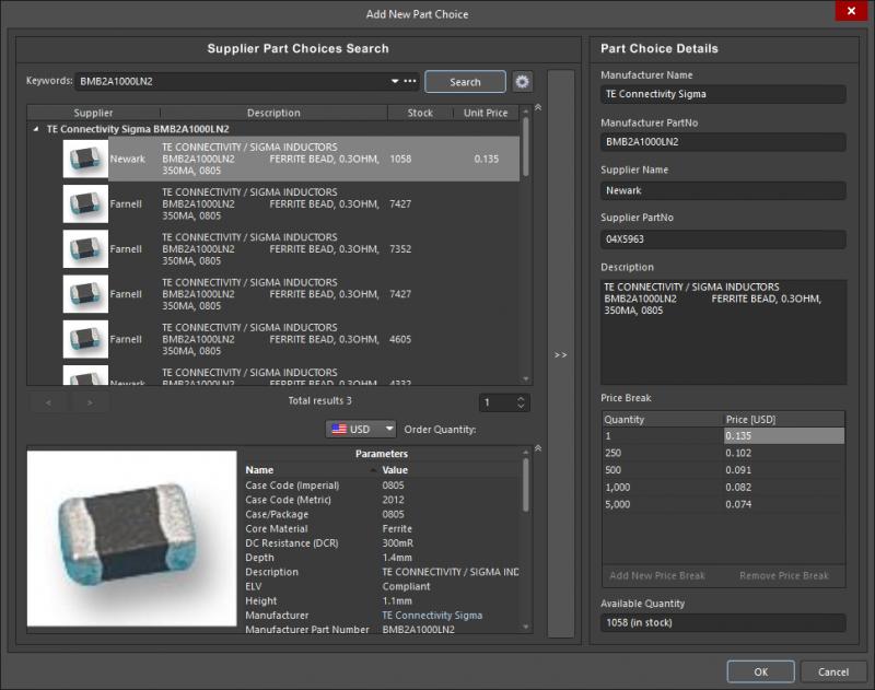 Abastecimiento de componentes SMT para el diseño de una PCB con núcleo metálico