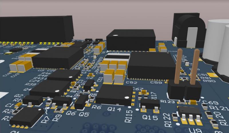 Digi-Key PCB design in Altium Designer