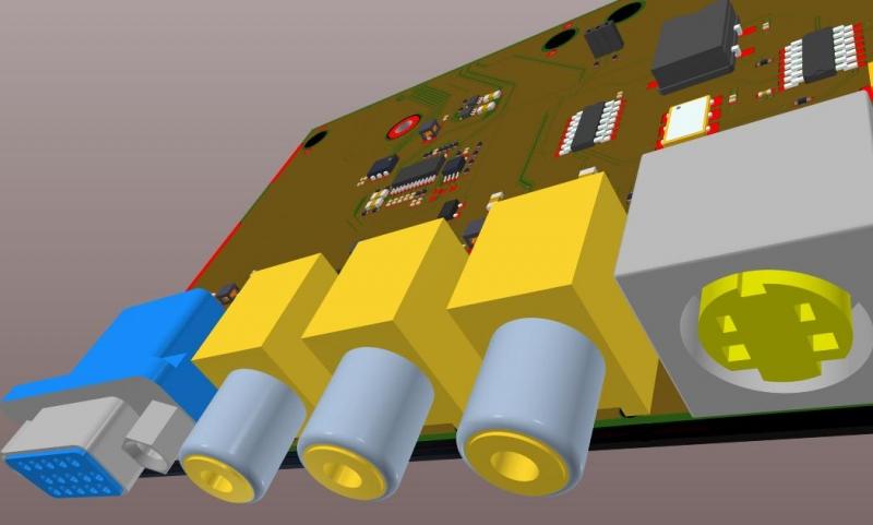Screenshot of 3D design in AD18