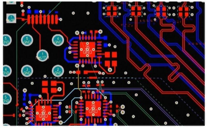 Enrutamiento de pistas de PCB