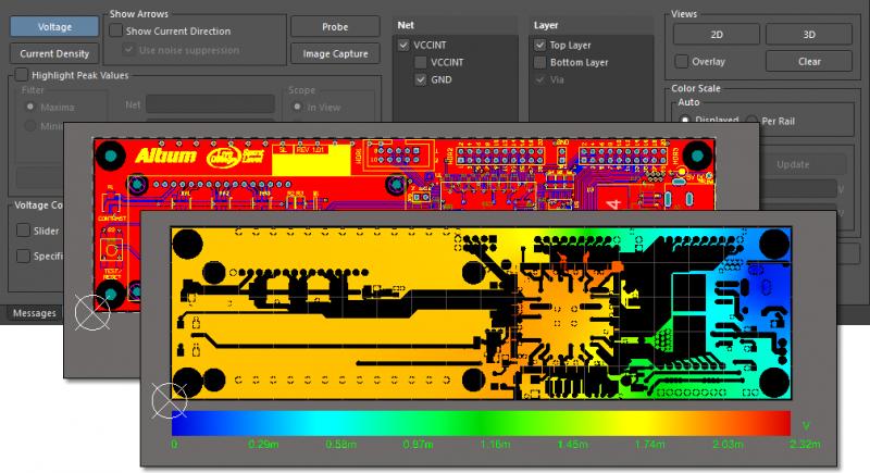 PCB design rule violation in Altium Designer