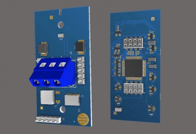 3D mechanical view in Altium Designer
