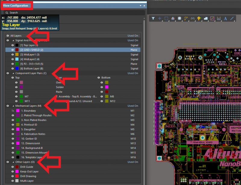 PCB Gerber viewer and compare tool
