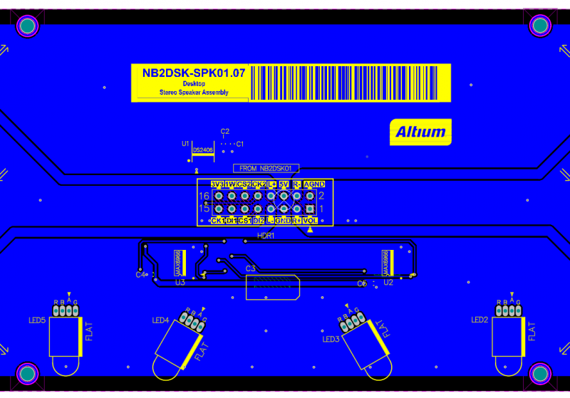 PCB special strings can place bar codes
