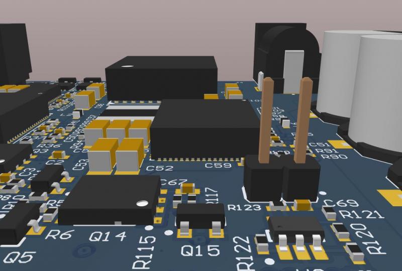 Native 3D design tools for placing aircraft electrical connectors in Altium Designer