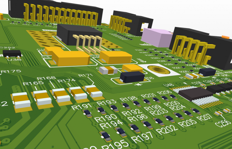A printed circuit assembly