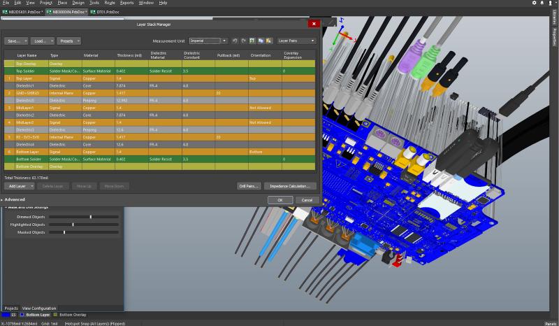 Materiales para circuitos impresos