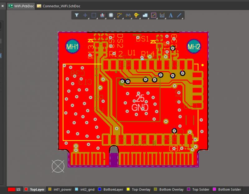 Altium Designer PDN analyzer