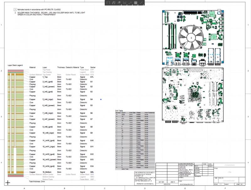 Altium's Draftsman tool