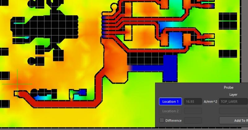 PDN simulation in high voltage PCB design