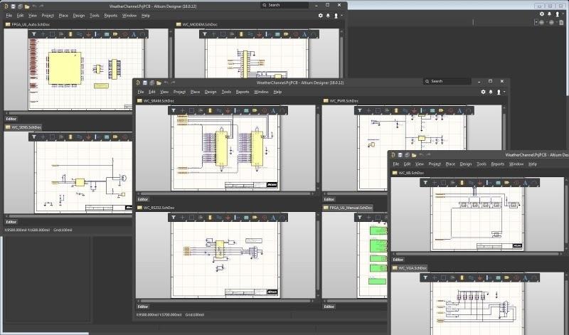 Le puissant éditeur de schémas hiérarchiques d'Altium Designer, le logiciel de CAO parfait pour la conception de circuits imprimés