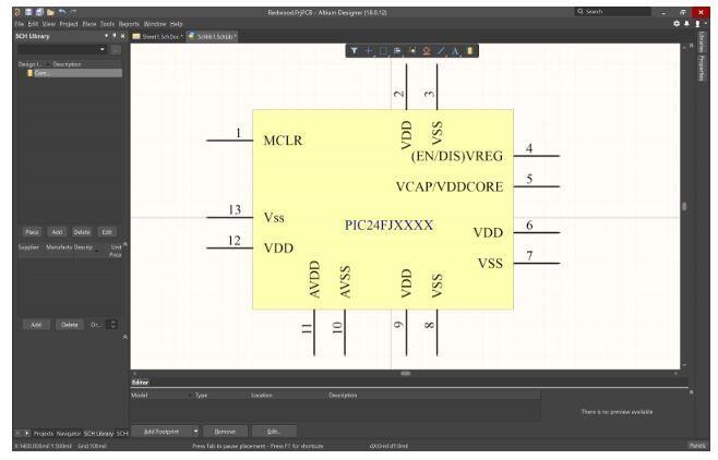 Visor CAD para PCB