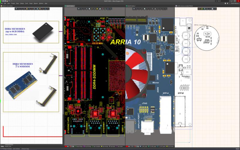 Il software CAD di Altium consente di moltiplicare le attività a piacere e disegnare schemi elettrici( Il software CAD di Altium consente di moltiplicare le attività a piacere e disegnare schemi elettrici