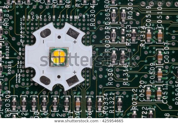 Aluminum PCB with LEDs