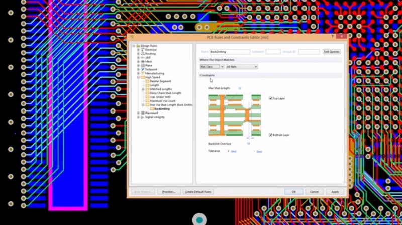 Logiciel de schéma de PCB – prototypage en Altium Designer