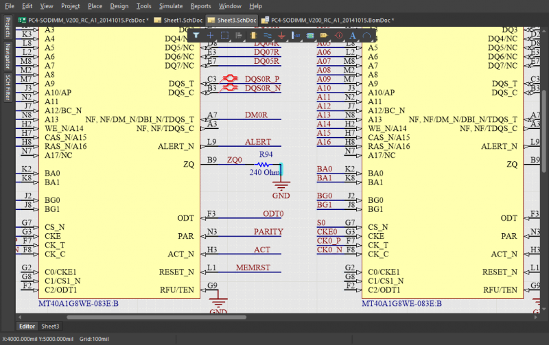 Drawing schematics in a PCB layout program