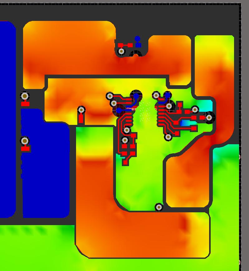 Altium Designer PDN analyzer LED PCB design