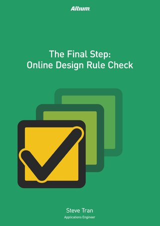 The Final Step: Online Design Rule Check