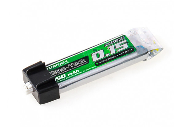 Turnigy Nano-Tech 150 mAh 1S 25C Li-Pol battery specified for the project