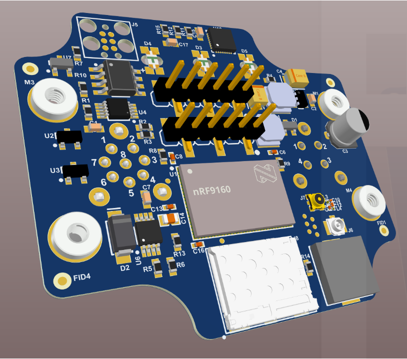Quick Turn Prototype Using the NRF9160 cellular IoT module Reference Files