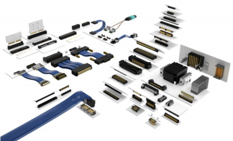 Samtec's Full Line of High Speed Mezzanine Interconnects and Cable Assembly Systems.