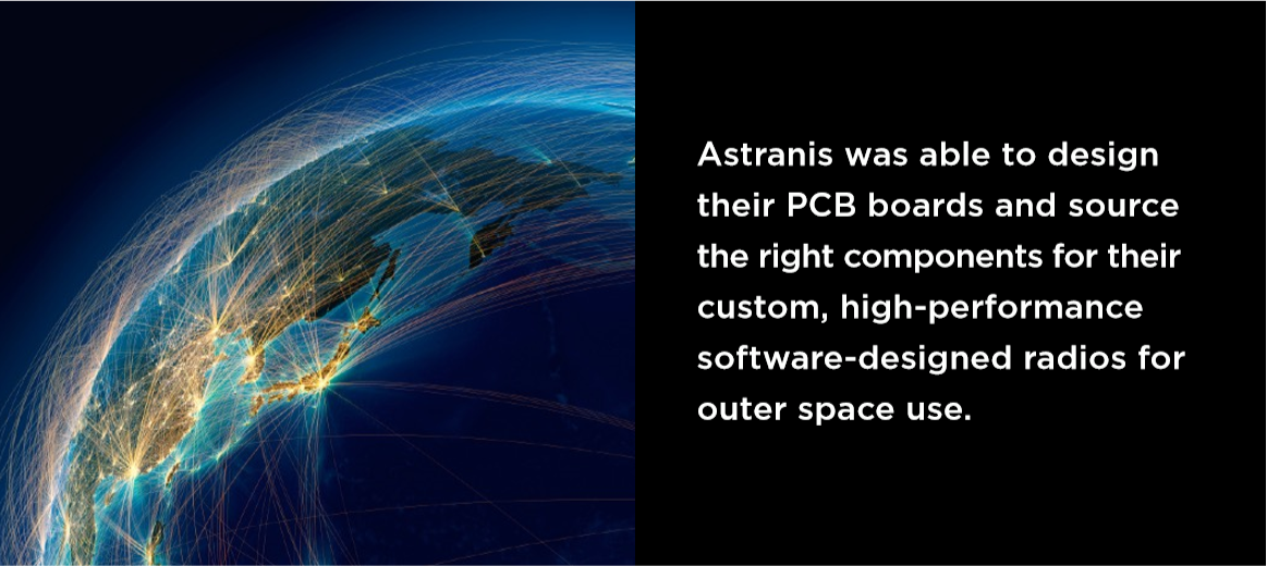 Astranis Designed High-Performance PCB Boards